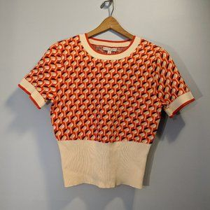 Short sleeve knit blouse by Eva Mendes  NWT